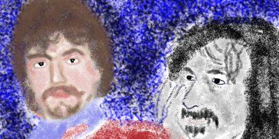 Ein haariges Thema. Handgemalt mit Photoshop von Joe Freiburg. Veröffentlicht auf www.geilemathe.de