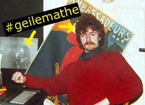 Joe Freiburg in jungen Jahren mit geiler Matte.