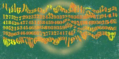 Wie man eine neue irrationale Zahl erfindet. Handgemalt mit Photoshop von Joe Freiburg. Veröffentlicht auf www.geilemathe.de