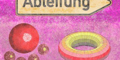 Veränderung - Auf Entdeckungsreise mit der Ableitung. Handgemalt mit Photoshop von Joe Freiburg. Veröffentlicht auf www.geilemathe.de