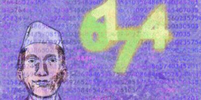 Besondere Zahlenspielereien. Handgemalt mit Photoshop von Joe Freiburg. Veröffentlicht auf www.geilemathe.de